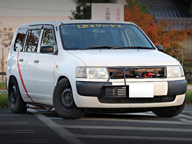 FRONT FACE PROBOX VAN KAIDO RACER