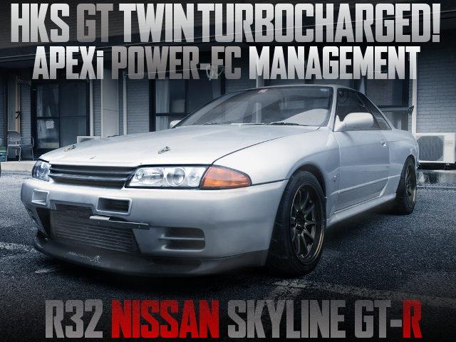 HKS GT TWINTURBO R32 SKYLINE GTR