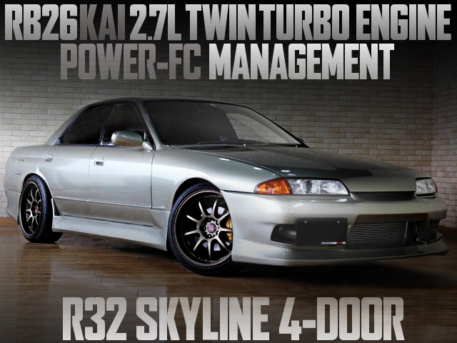 RB26 TWINTURBO SWAP R32 SKYLINE SEDAN