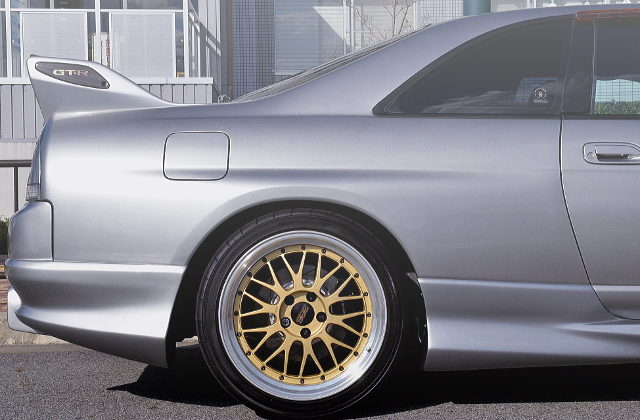 REAR BBS LM WHEEL