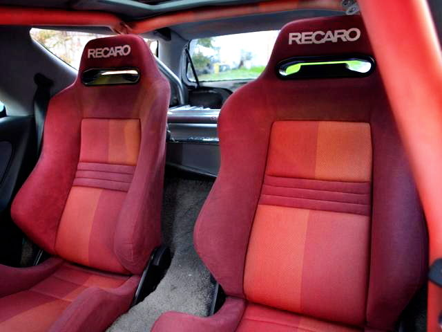 REAR RECARO SEATS