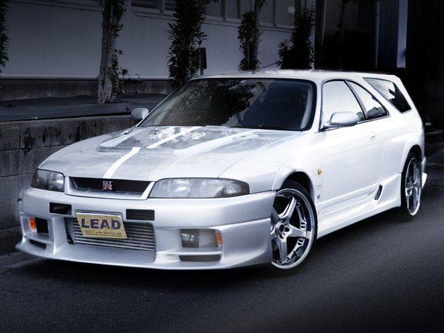 FRONT EXTERIOR R33 GTR SPEED WAGON