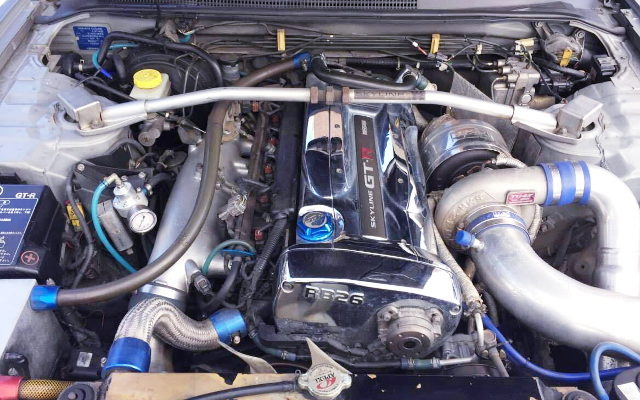 RB26 ENGINE WITH TO4Z BALL BEARING TURBO