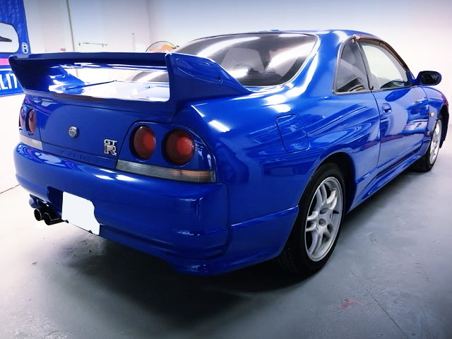 REAR EXTERIOR R33 GTR LM LIMITED