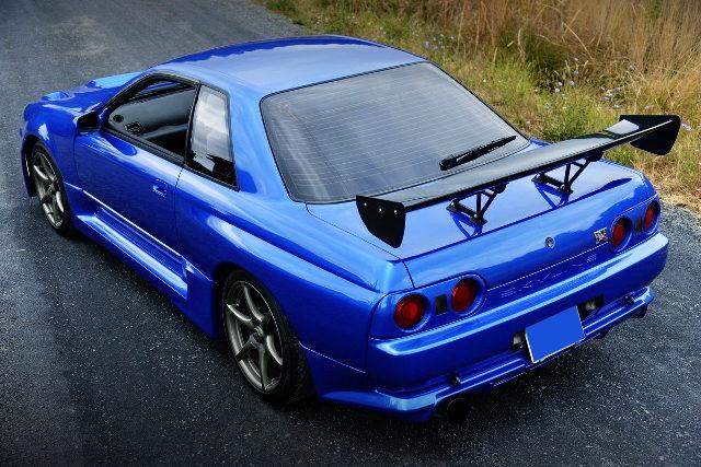 REAR EXTERIOR R32 SKYLINE GT-R