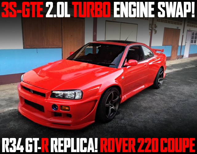 R34GTR REPLICA ROVER 220 COUPE