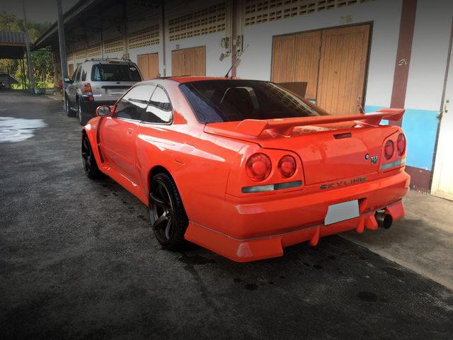 REAR EXTERIOR R34 GT-R REPLICA