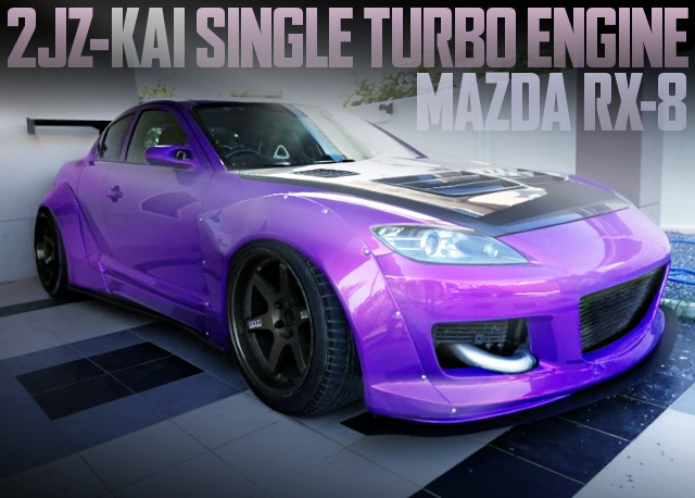2JZ SINGLE TURBO ENGINE RX8 WIDEBODY