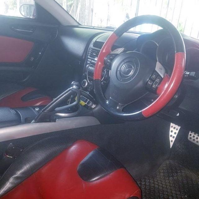 INTERIOR DASHBOARD RX8