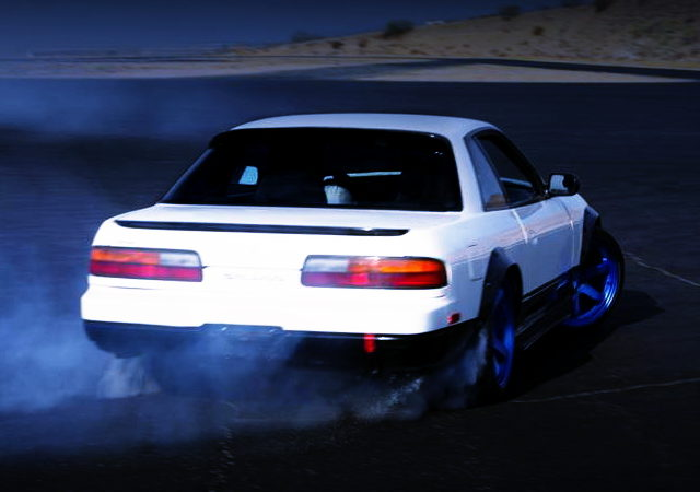 DRIFTING S13 240SX COUPE