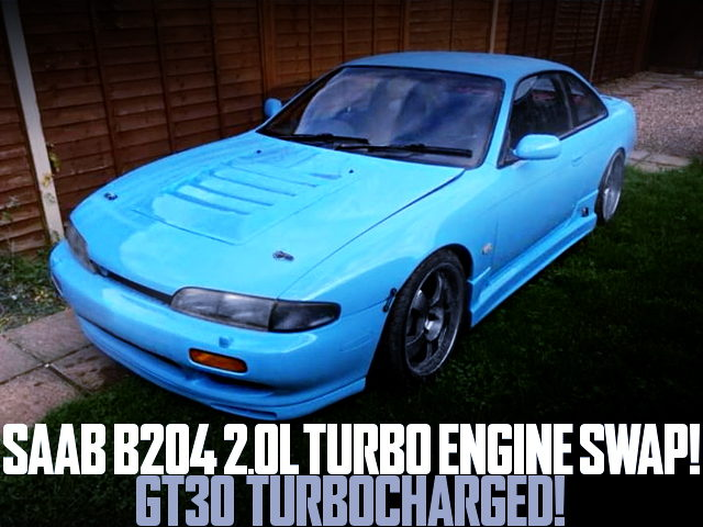 SAAB B204 TURBO ENGINE SWAP S14 NISSAN 200SX