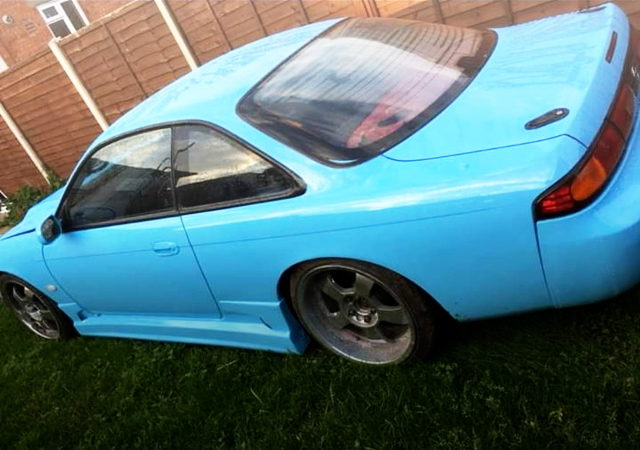 REAR SIDE EXTERIOR FOR S14 ZENKI 200SX