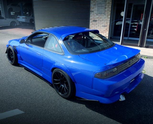 REAR EXTERIOR S14 SILVIA KOUKI BLUE