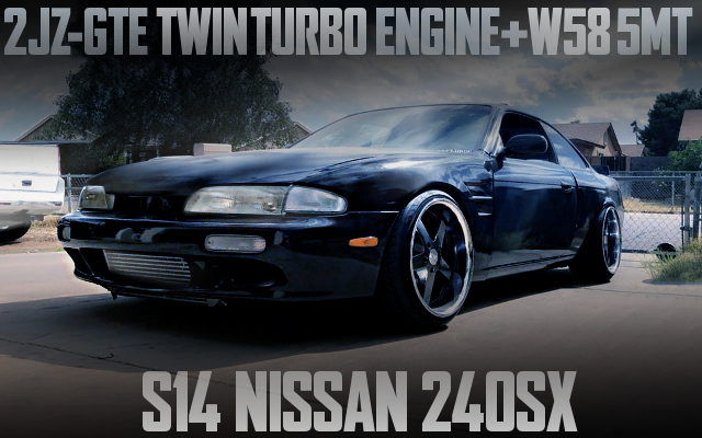 2JZ TWINTURBO ENGINE SWAP S14 240SX