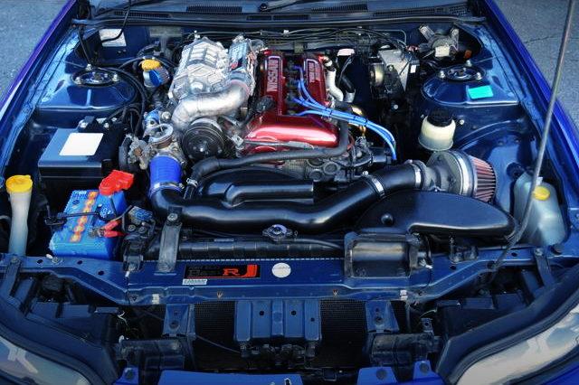 SR20DE ENGINE WITH SUPERCHARGER