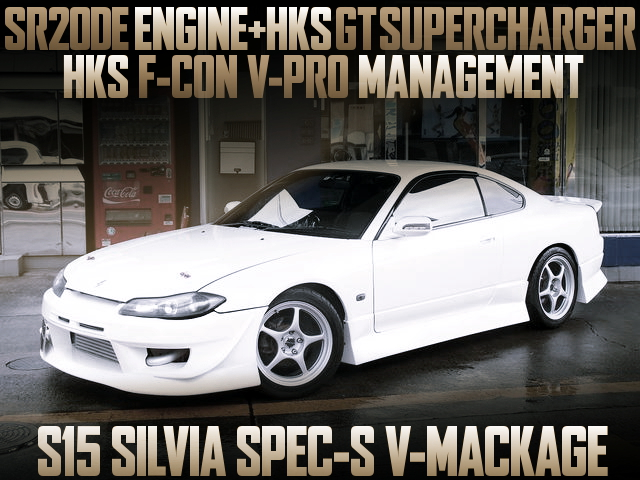 SR20DE WITH HKS GT SUPERCHARGER S15 SILVIA