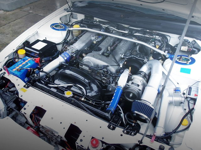 SR20 SUPERCHARGER ENGINE