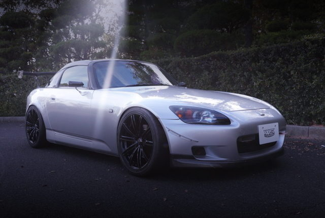 FRONT EXTERIOR AP1 S2000 SILVER
