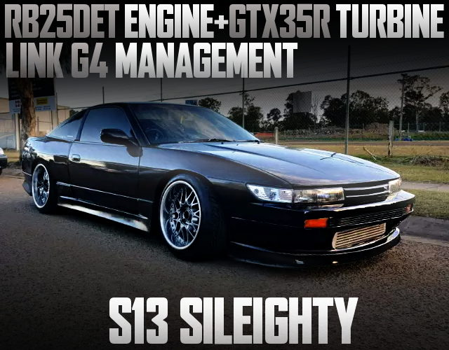 RB25DET WITH GTX35R S13 SILEIGHTY