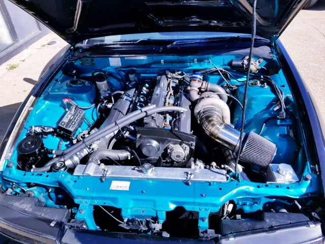 RB25DET ENGINE WITH GTX35R TURBO