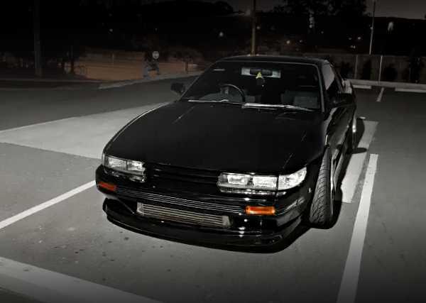 S13 SILVIA FACE CONVERSION 180sx