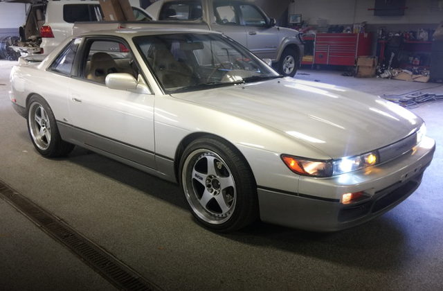 FRONT EXTERIOR S13 SILVIA CONVERSION TO 240SX