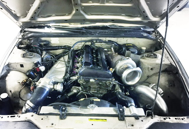 SR20VET TURBO ENGINE WITH GT35 TURBINE