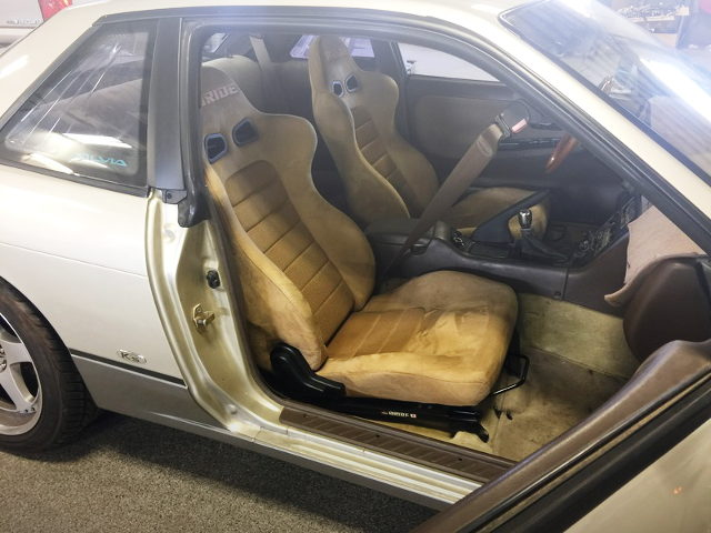 BRIDE SEMI BUCKET SEATS