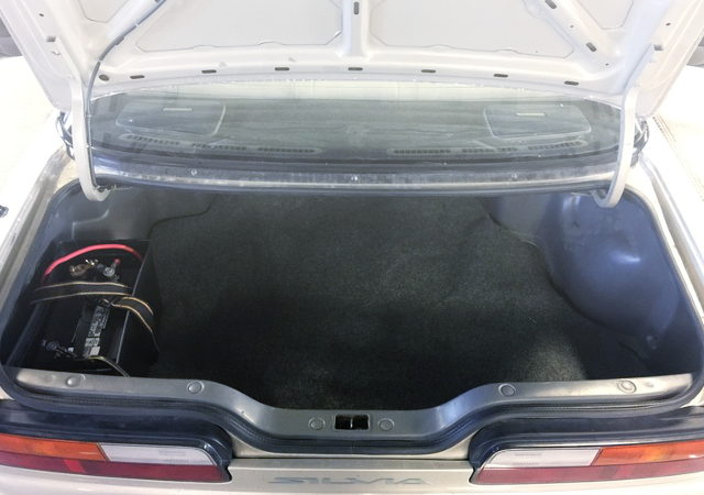 TRUNK ROOM CAR BATTERY