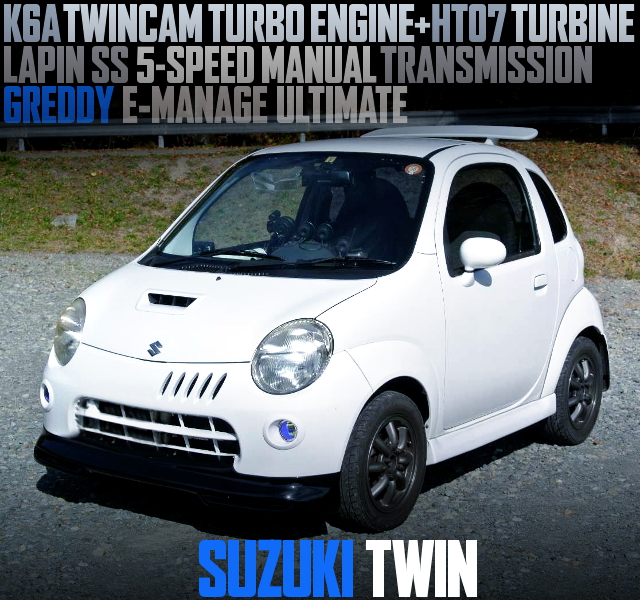 K6A TWINCAM TURBO ENGINE SWAP EC22S SUZUKI TWIN