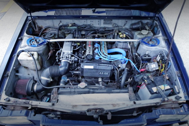 16-VALVE 4A-GE 16000cc ENGINE