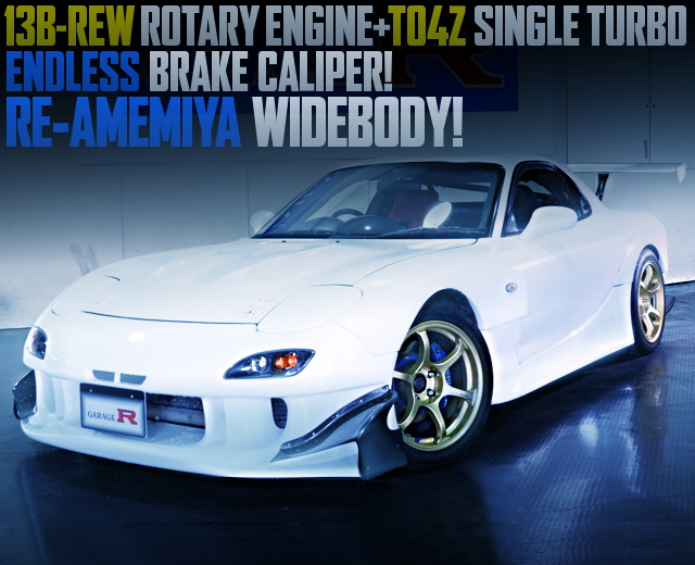 TO4Z TURBO RE-AMEMIYA WIDEBODY FD RX7