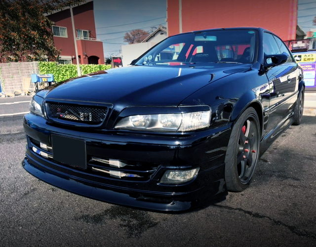 FRONT EXTERIOR JZX100 CHASER BLACK