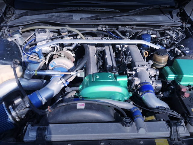 VVTI 1JZ-GTE WITH GREDDY TURBO