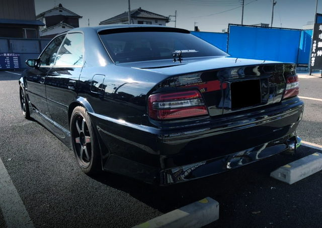 REAR EXTERIOR JZX100 CHASER BLACK