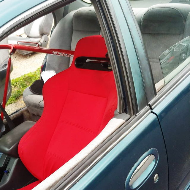 BUCKET SEAT RED