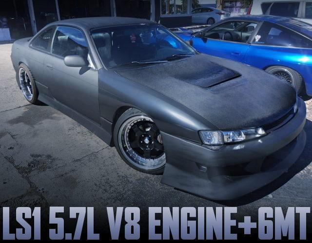 LS1 5700cc V8 ENGINE 6MT S14 KOUKI 240SX
