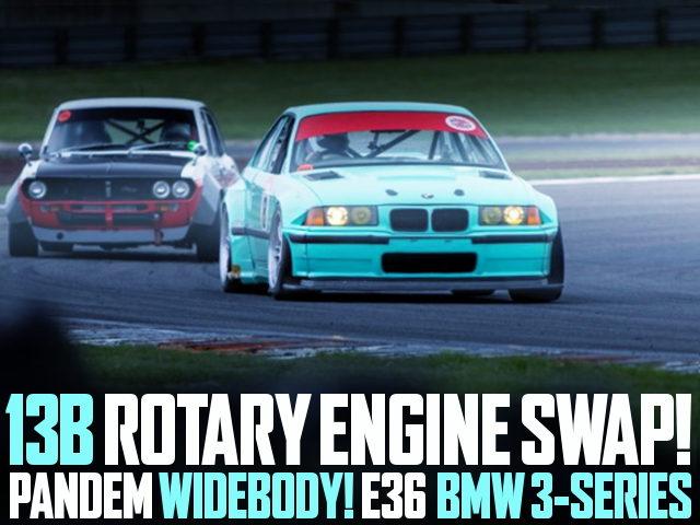 13B ROTARY ENGINE SWAP E36 BMW 3-SERIES