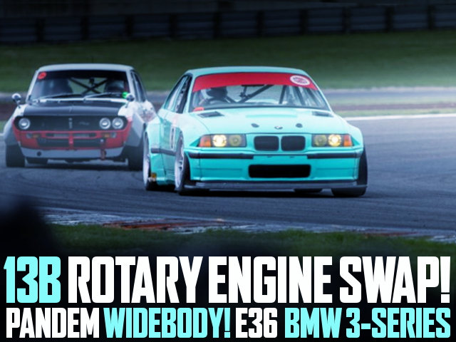 13B ROTARY ENGINE SWAP E36 BMW 3-SERIES