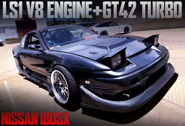 LS1 V8 TURBO ENGINE SWAP 180SX
