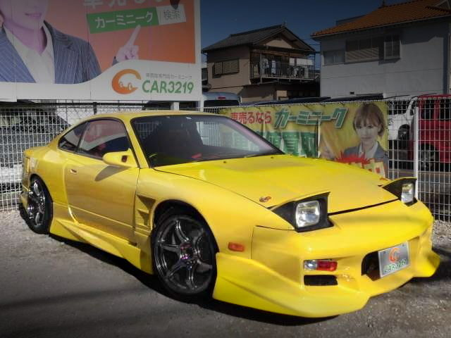 FRONT EXTERIOR S15 ONEVIA YELLOW