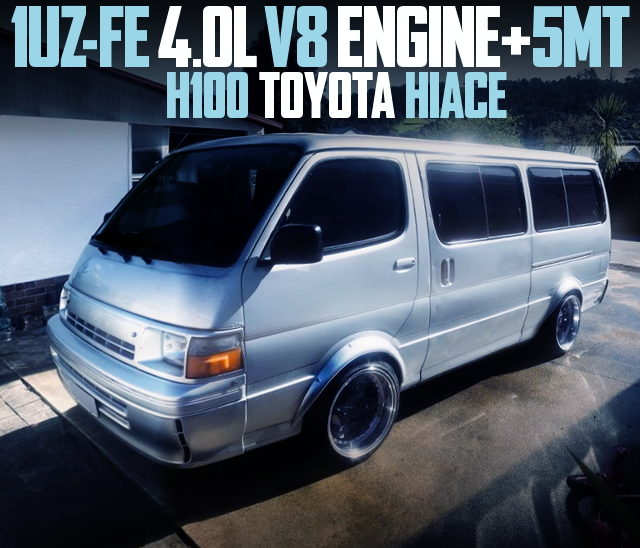 1UZ V8 ENGINE WITH 5MT H100 HIACE