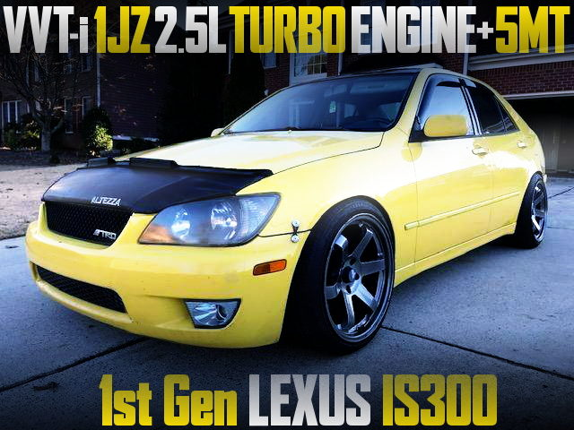 VVTi 1JZ TURBO ENGINE WITH 5MT INTO 1ST GEN LEXUS IS300