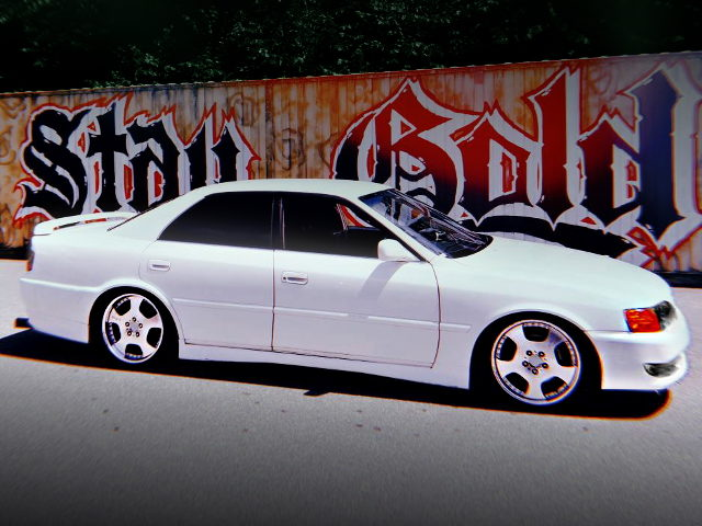 SIDE EXTERIOR JZX100 CHASER