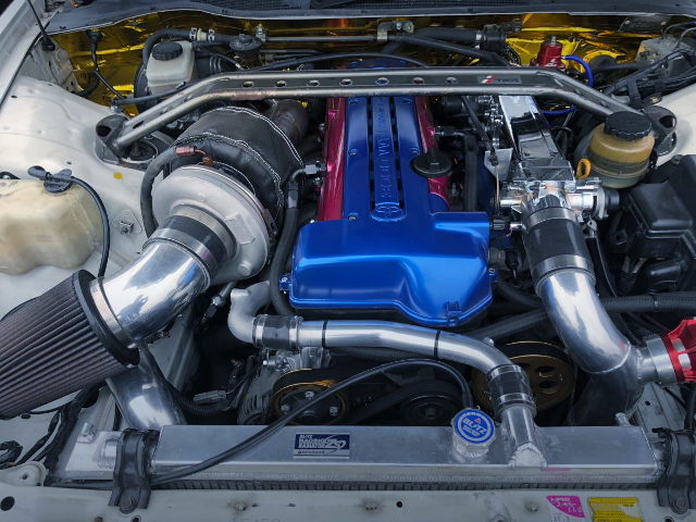 VVTi 2JZ-GTE ENGINE WITH SINGLE TURBOCHARGER