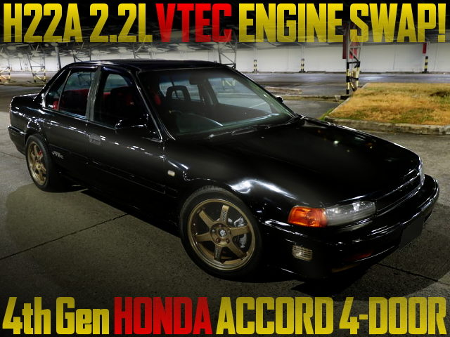 H22A VTEC SWAP 4th Gen ACCORD 4-DOOR