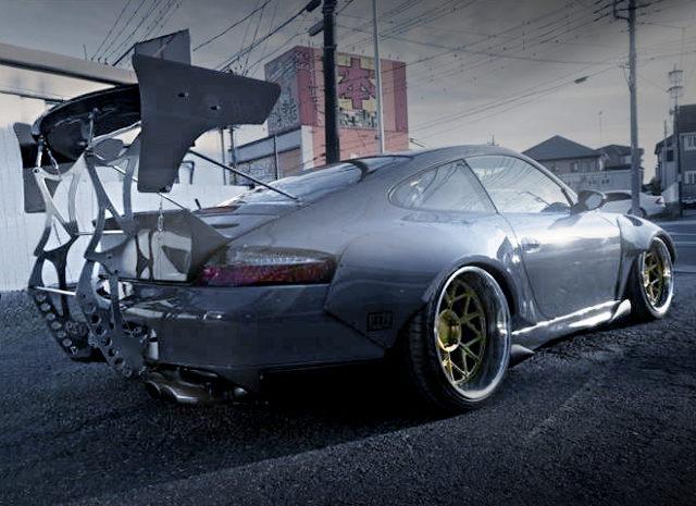 REAR EXTERIOR 996 PORSCHE 911 CUSTOM