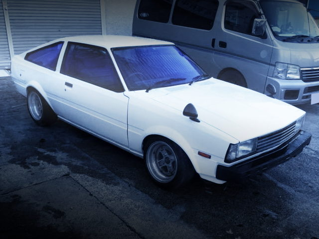 FRONT EXTERIOR AE70 COROLLA LEVIN HATCH