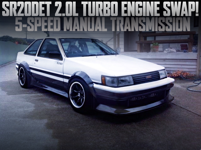 SR20DET TURBO ENGINE AE86 LEVIN