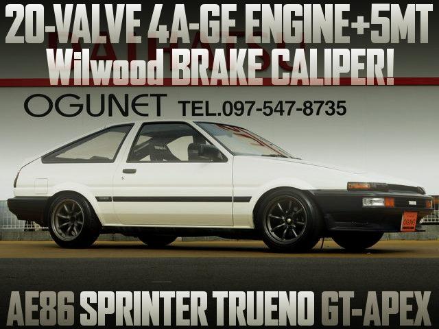 20V 4AG SWAP AE86 TRUENO GT APEX
